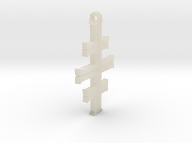 Gea's Cross 3d printed
