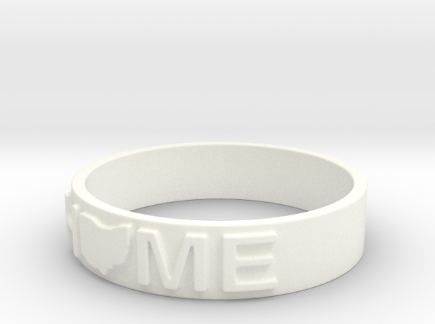 Home - Ohio - Ring Size 10 3d printed