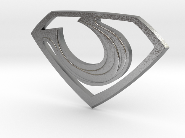 "Zod ""Man of Steel"" Double Sided 3d printed"