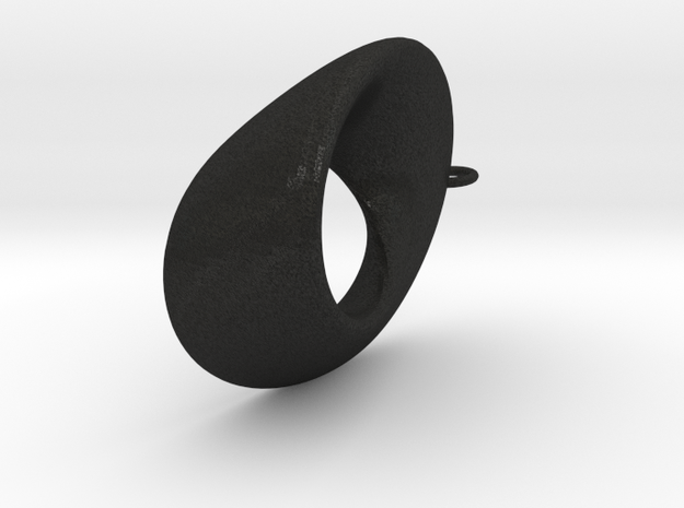 Mobius - oval 4.5 cm long 3d printed