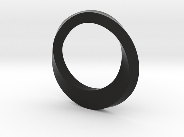 Mobius Ring 3d printed