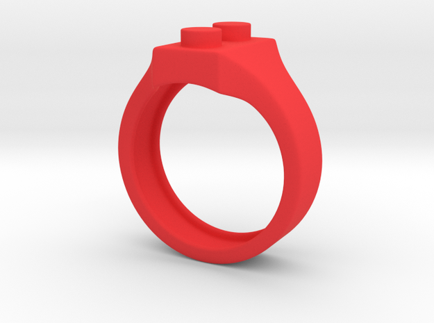 Brick Ring Simple 3d printed