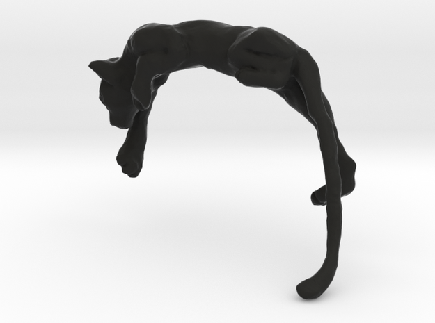 Stalking Ear Cat 3d printed