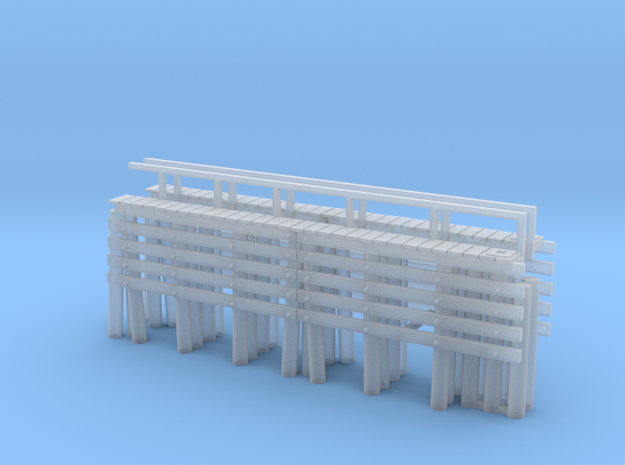 Piers N scale end 1 3d printed