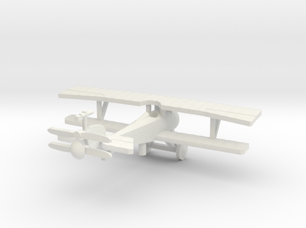Nieuport 17 wing gun only versions. 1/144th scale 3d printed
