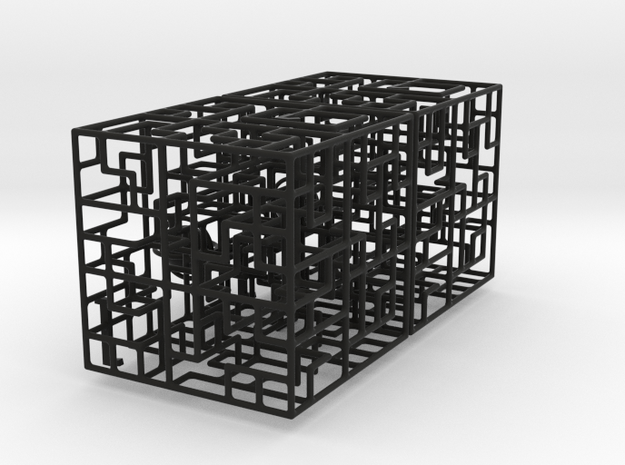 Escher's Playground 2-pack 777 3d printed