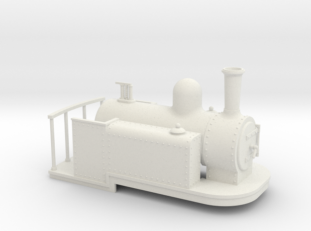 On16.5 Spooner style side tank quarry loco 3d printed
