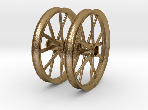 2009 18 IN RADIR WHEEL PAIR 1-8scale 3d printed