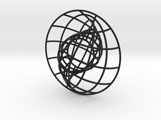 Nesting Spheres 3in 3d printed