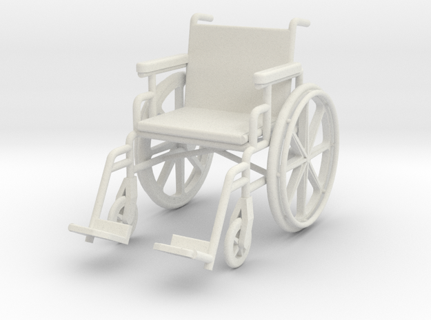 1:24 Wheelchair (Not Full Size) 3d printed