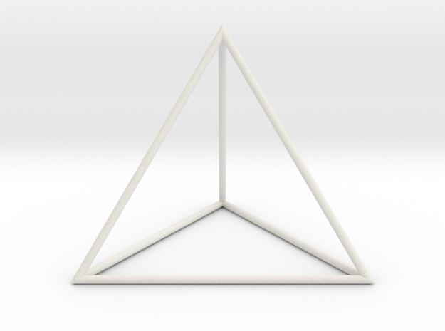 Tetrahedron 100mm 3d printed