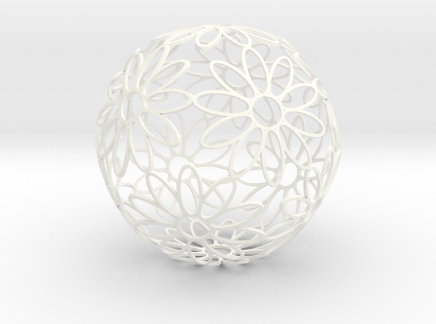 DodecaFlower (Large 145mm) 3d printed