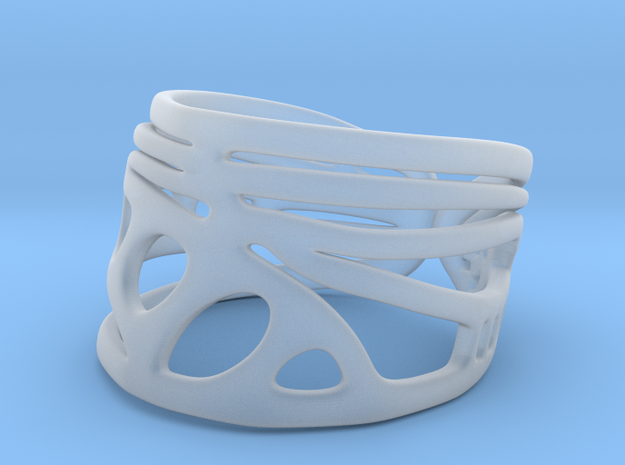 Dragonfly Wing Ring 3d printed