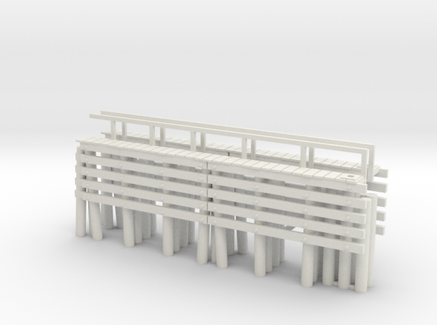 Piers HO One End 3d printed