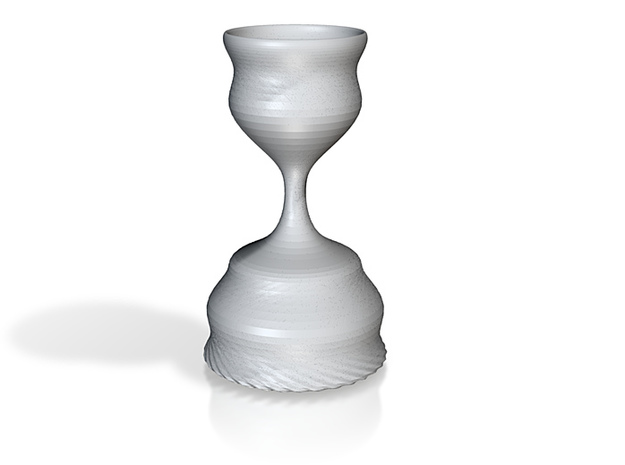 Silver Goblet 3d printed
