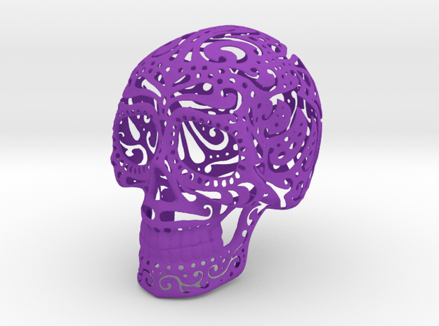 Mexican Skull 3d printed