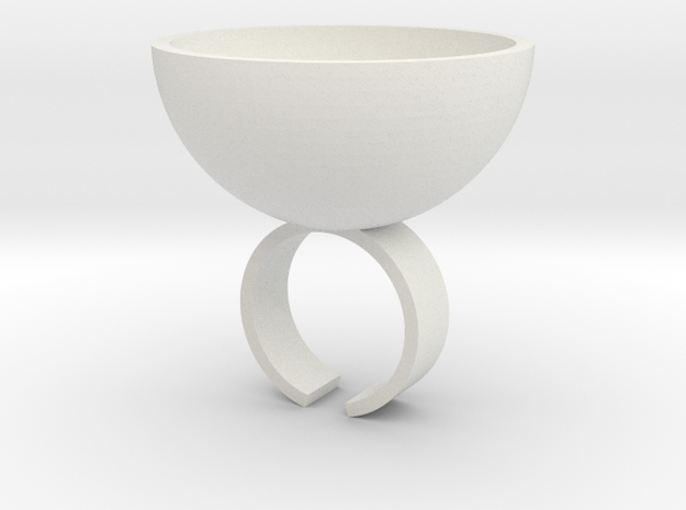 Shot Ring 3d printed