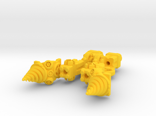Thugger Drillers 3d printed