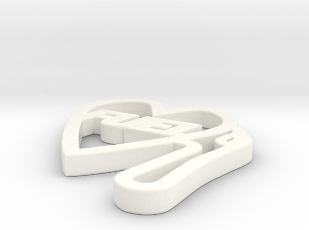 Love Pump Pendant 3d printed