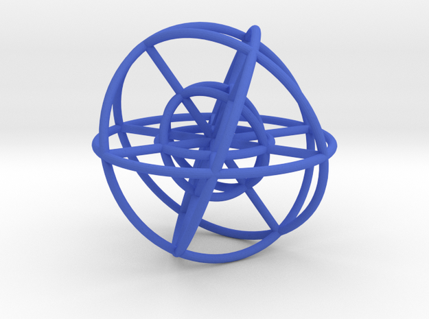 Sphere Inside Sphere 100mm 3d printed
