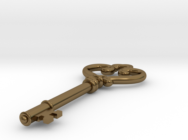Antique Key Pendant 3d printed