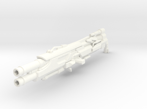 """Feuer Frei!"" scatter blaster (13 cm length) 3d printed"