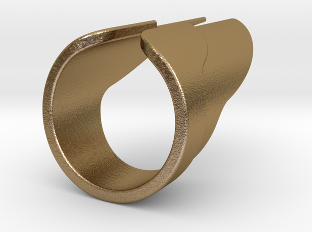 Wings Ring 3d printed