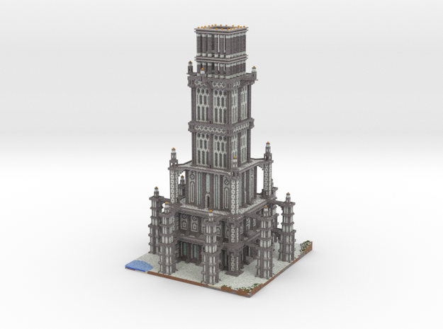 Massive Spawn Tower 3d printed
