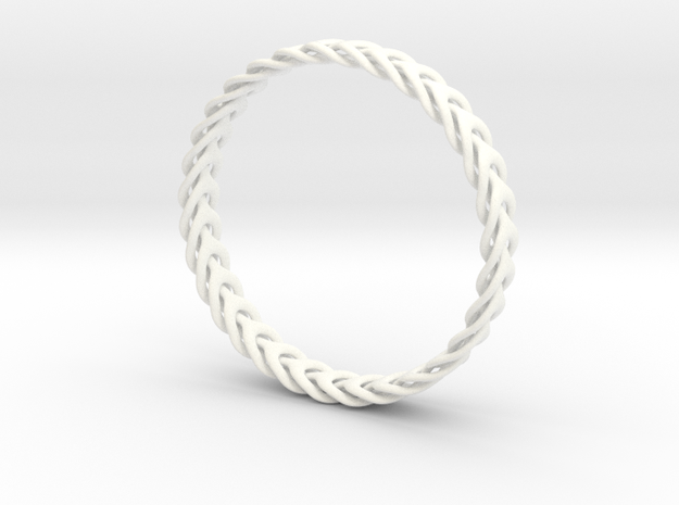 Three Phase bracelet 65mm 3d printed