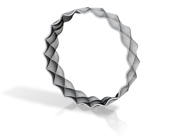 Bump Bangle | in 3d printed