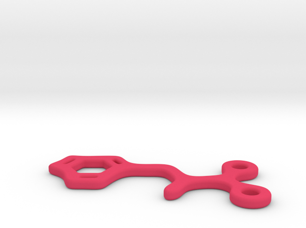 Phenylalanine Charm 3d printed