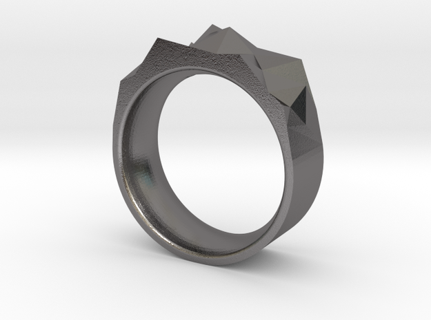 Triangulated Ring - 22mm 3d printed
