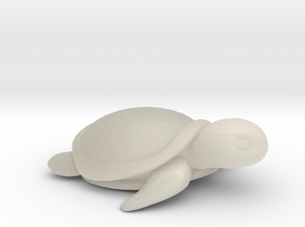 Concha: Little Turtle (1 piece) 3d printed