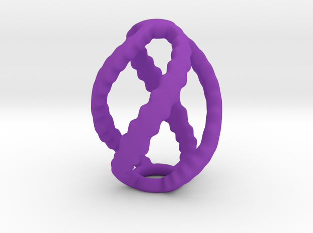 Egg Spiral (75mm high) 3d printed