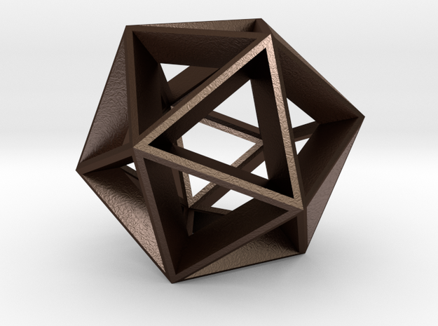 Polyhedral Sculpture #20 3d printed