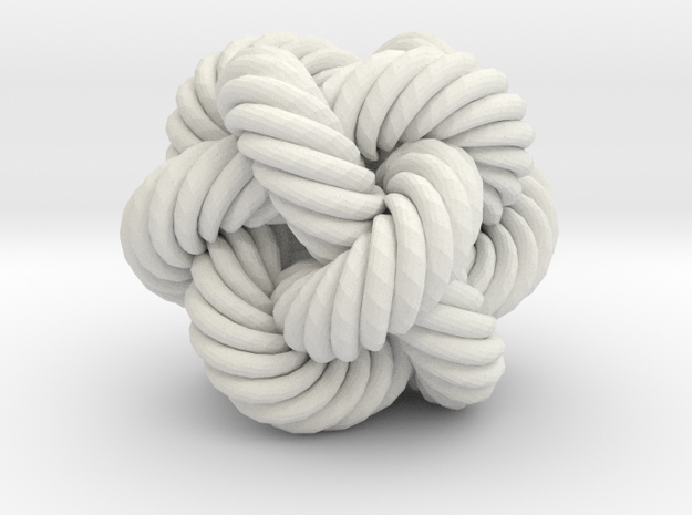 Rope Bead (M) 3d printed