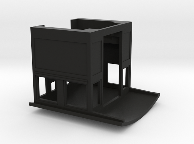 HOn30 Cab for 2-8-0 steam loco, mk.1 3d printed