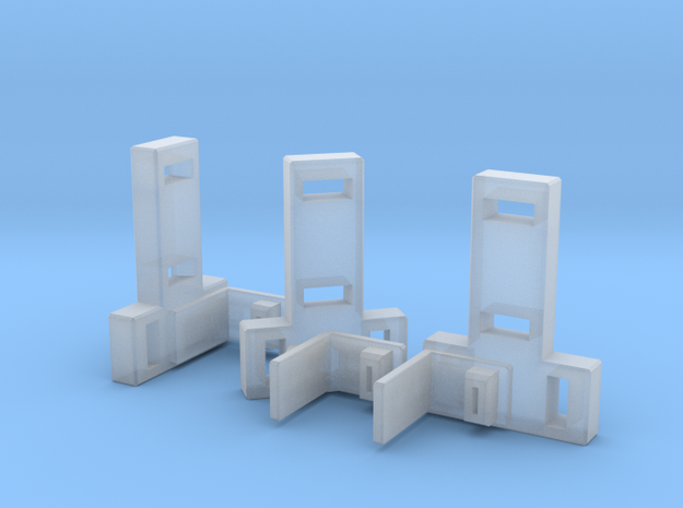 VF-11 Relámpago - Shield Adapters x3 Types 3d printed