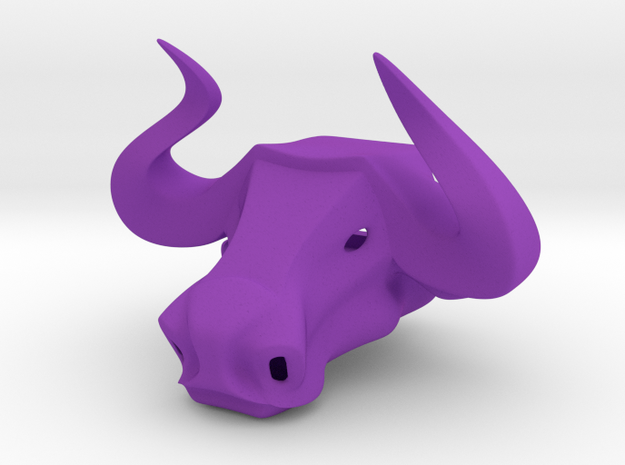 Bull head bottle opener (small) 3d printed