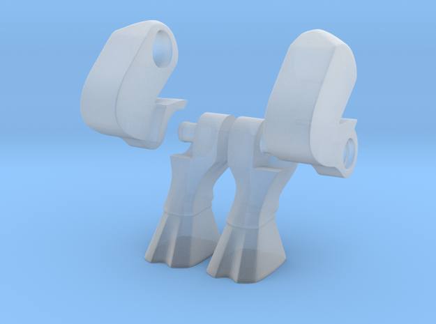 Goat Legs for Minimates 3d printed