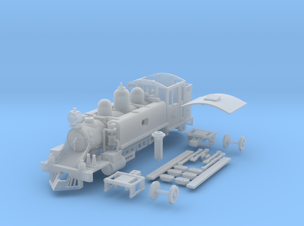 HOn30 PBR NA 3d printed This is the first version of the NA that has been produced.Few changes have been made to the current version.View the renders provided to see the changes.