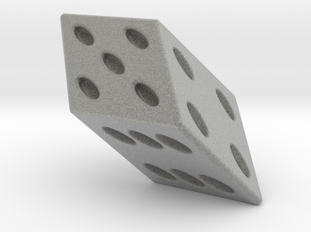Stretched Dice 3d printed