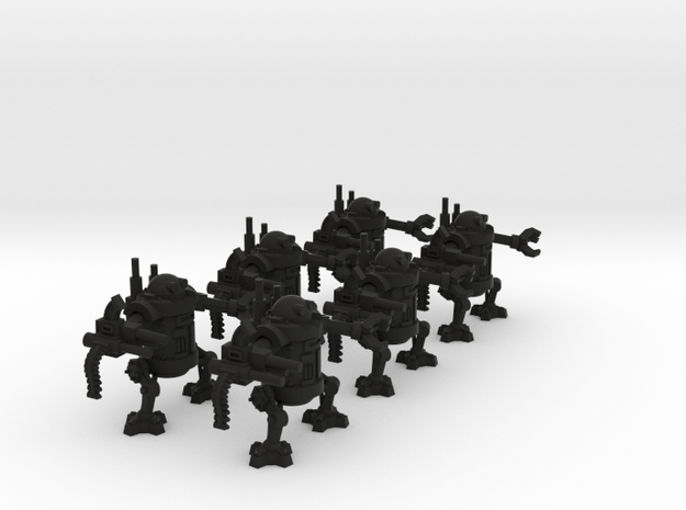 15mm Greenskin Walkers (x6) 3d printed