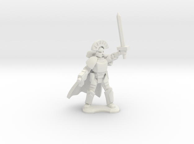 15mm Legionary Captain (x1) 3d printed