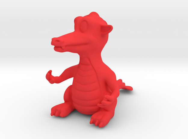 Dragon small 3d printed