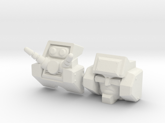 Junkion homage I-ROC For Deluxe TF Gen Wreck R 3d printed