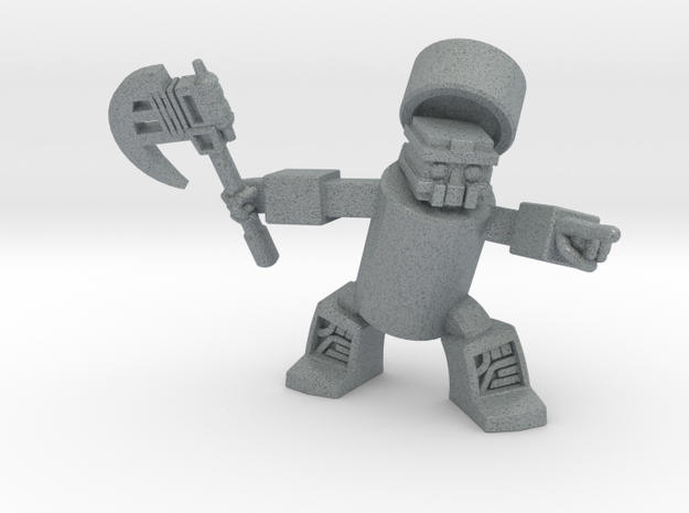 Khan-Dor, The Cola-Warrior 3d printed