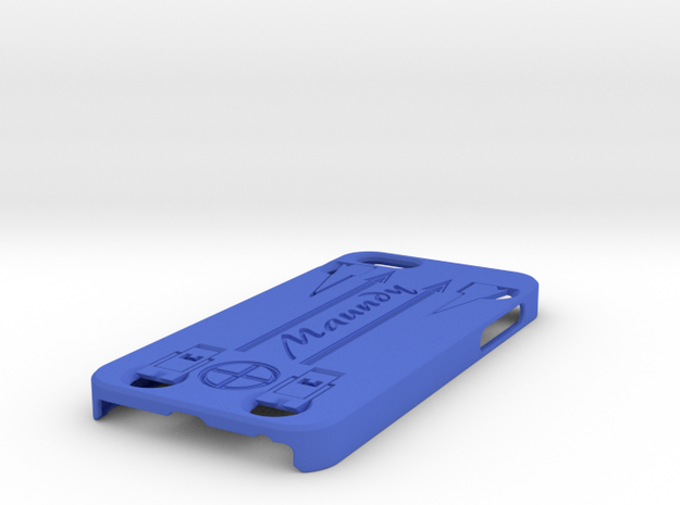 Rubber Blaster iPhone 5 Case 3d printed