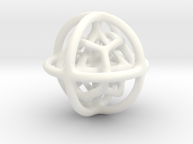 Gyroid 01 3d printed