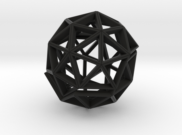 Polyhedral Sculpture #30 (3.7 cm) 3d printed